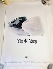 "Apple iMac introduction ""Yin Yang"" Poster - UNUSED Condition - Rolled since 2000"
