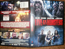 Love In The Time Of Monsters (DVD 2015) Horror Comedy Heather Young, Kane Hodder