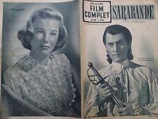 """LE FILM COMPLET 1950 N 225 """" SARABANDE """" avec STEWART GRANGER et JOAN GREENWOOD"""