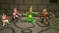 Dungeons and Dragons cartoon figures! PVC.  Very Rare!