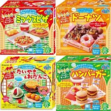 New Kracie Popin Cookin Happy Kitchen Making 4Item Japanese DIY Candy Kits 2