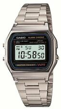 New!! CASIO Standard Mens Watch A158WA-1JF Silver Japan Best Seller Model Import