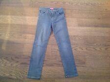 Schöne Jeans Hose Review Gr. 134 grau slim kaum getragen wie neu Mädchen Kinder