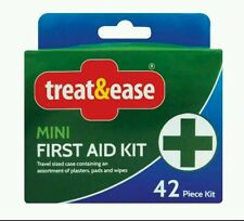 MINI FIRST AID KIT 42pc Compact Travel Home Office Work car new Sport