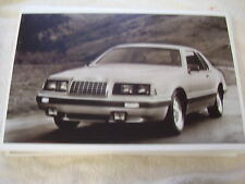 1984 FORD THUNDERBIRD TURBO COUPE   11 X 17  PHOTO   PICTURE