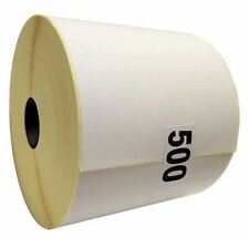 5000 Plain Thermal Labels 500 x 10 Roll for Zebra Toshiba Citizen 100mm x 150mm