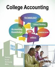 College Accounting Chapters 1-12 by Tracie L Nobles