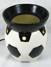 Scentsy SOCCER BALL World Cup Full Size Wax Warmer Base Dish Bars Bricks