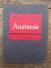 LES PETITS PRECIS ANATOMIE TOME 1 PAR DUPUY DE FRENELLE 1938