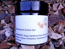 100% Pure Natural Arnica Herbal Gel - No Chemicals - 60g