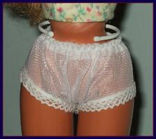 "FREE U.S.SHIPPING Sheer Undies PANTIES Fit 18"" SUPERSIZE BARBIE Tiffany Taylor"