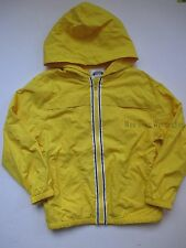 Gymboree Sunny Sports Yellow Windbreaker Hooded Jacket Boys M 7-8 NEW NWT