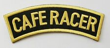 CAFE RACER PATCH EMBROIDERED CLOTH BADGE
