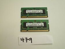 Samsung 2x1Gb=2Gb 667Mhz PC2-5300 200pin DDR2 SODIMM laptop memory RAM (479)