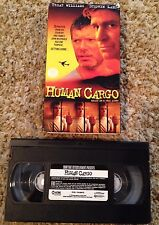 Human Cargo (1999) - VHS Video Tape - Action - Treat Williams - Stephen Lang