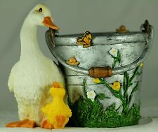Duck and Duckling Garden Planter, Easter Present or Birthday  Gift