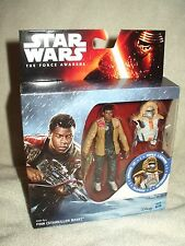 Action Figure Star Wars The Force Awakens Finn Starkiller Base Armour Up 4 inch