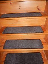 """13 STEP 9"""" X 30"""" + Landing 30"""" x 30"""" indoor Outdoor Stair Treads Vinyl ."""
