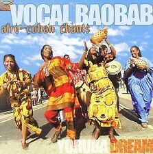 Vocal Baobab-Afro-Cuban Chants CD NEW
