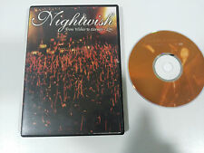NIGHTWISH FROM WISHES TO ETERNITY LIVE DVD REGION 0 ALL - 150 MIN