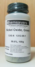 Nickel Oxide, Green, Reagent, 99.6%, Certified, 100g