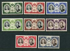 MONACO 1956 PRINCE RAINIER GRACE KELLY WEDDING MNH Set 8 Stamps