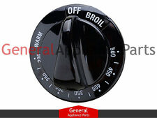 General Electric GE Stove  Range Knob Thermostate (black) AH225997 242686