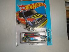 HOT WHEELS 2015  Kmart Exclusive First to Market '67 Austin Mini Van -Blue