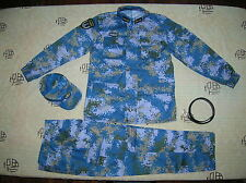 15's China PLA Hong Kong Navy Admiral Digital Camo Combat Clothing,Set,Winter.