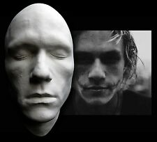 Heath Ledger Half Face Life Mask Lifecast Bust Dark Knight Joker Hot Toys