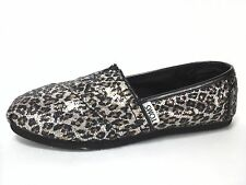 TOMS  Classic Women's Shoes Leopard Animal Print Sparkle  US 5 UK 3 EUR 35.5