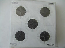 14CM PAPER 25 YARD SMALL MATCH TARGETS - 100 PER PACK .22 RIFLE & PISTOL RANGE