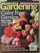 Organic Gardening Best Tulips Make Herbal Remedies Oct/Nov 2014 FREE SHIPPING!