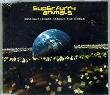 SUPER FURRY ANIMALS - (DRAWING) RINGS AROUND THE WORLD - CD singolo NUOVO SIGILL