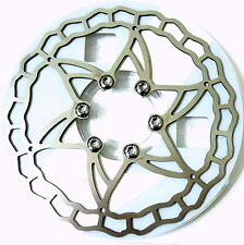 ASHIMA Ai2 The World's Lightest Stainless Disc Rotor, 140mm, 64g, ABE