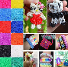 FD2723 Rainbow Refill Rubber Bands For Loom Bands DIY Bracelet 300pcs Colorful✿