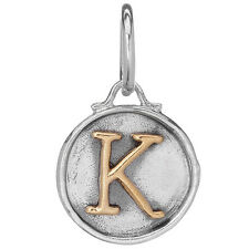 Waxing Poetic Chancery Insignia Collection Charm Letter K  M561-K