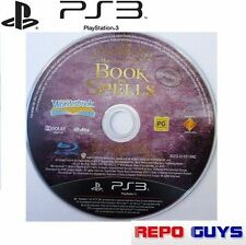 10 x PS3 BOOK OF SPELLS Harry Potter for PlayStation 3 Wonderbook Hogwarts :DISC