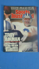 SPORTS ILLUSTRATED-AUG.21,1989-TROY AIKMAN- THE COWBOY'S $11 MILLION MAN