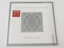 MANCHESTER ORCHESTRA Simple Math LP 150 GRAM VINYL rare oop SEALED