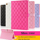 Luxury Slim Smart Wake Leather Case Cover For iPad Mini Air/Air 2 2/3/4/5