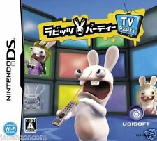 Used DS  Rayman Raving Rabbids TV Party  NINTENDO JAPANESE IMPORT