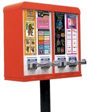 NEW STICKER & TATTOO 4 SLOT Vending Machine AA Advanced Coin Op .25-1.25