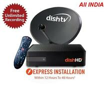 Dish TV HD+ Dishtv HD recoder DTH Set Top Box with 3 YEARS Free subscription
