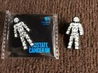 "MEN UNITED PROSTATE CANCER badges £2.99 FREE P&P ""THE ONLY OFFICIAL FUNDRAISER """