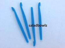 TUPPERWARE New CITRUS PEELER, Lot of 4 peelers SALT WATER TAFFY BLUE 5 fREEsHIP!
