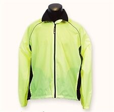 Pace Sportswear Windstop Cycling Jacket - Hi-viz Yellow - Small