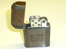 HURRICANE WINDPROOF ALL WEATHER POCKET LIGHTER - 1939 - MADE IN U.S.A. - RARE