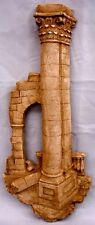 Greek Art Athena Column Arch Wall Sculpture Home Decor Plaque Roman 18045