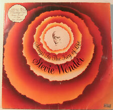 "[j808]STEVIE WONDER SONGS IN THE KEY OF LIFE MIT BOOKLET 2 LP-MOTOWN VINYL""12"